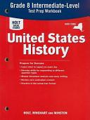 United States History  Grades 6 9 State Test Preparation Workbook New York