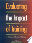 Evaluating the Impact of Training