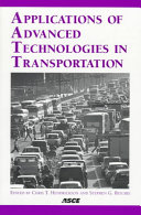 Applications of Advanced Technologies in Transportation
