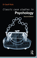 Book Classic Case Studies in Psychology