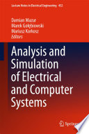 Analysis and Simulation of Electrical and Computer Systems