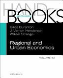 Handbook of Regional and Urban Economics  Vol  5a