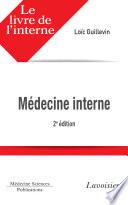 illustration du livre Livre de l'interne en médecine interne - 2e édition