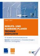 Gabler   MLP Berufs- und Karriere-Planer Technik 2009   2010
