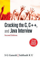 Cracking the C  C    and Java Interview