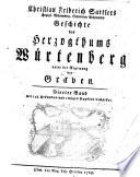 Geschichte des Herzogthums Würtenberg unter der Regierung der Graven