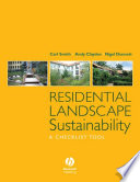 Residential Landscape Sustainability book