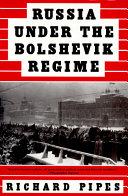 download ebook russia under the bolshevik regime pdf epub