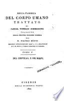 Della fabbrica del corpo umano trattato di Samuel Tommaso Sommerring tradotto dalla seconda edizione tedesca dal dr  Pietro Piatti     Tomo 1    8