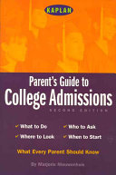Parent s Guide to College Admissions