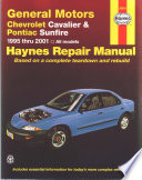 Chevrolet Cavalier Pontiac Sunfire 1995 2001 Workshop Service Repair Manual