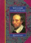 William Shakespeare Quotations