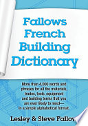 Fallows French Building Dictionary