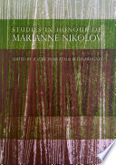 Studies in Honour of Marianne Nikolov