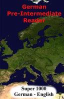 German Pre-Intermediate Reader