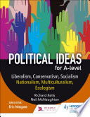 Political ideas for A Level  Liberalism  Conservatism  Socialism  Nationalism  Multiculturalism  Ecologism