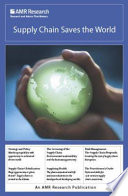 Supply Chain Saves The World book