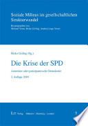 Die Krise der SPD