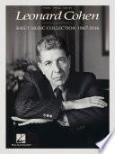 Leonard Cohen   Sheet Music Collection  1967 2016