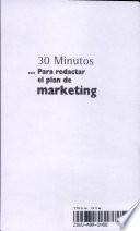 30 minutos   para redactar el plan de marketing