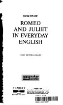 Shakespeare-- Romeo and Juliet in everyday English