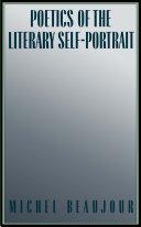 download ebook poetics of the literary self-portrait pdf epub