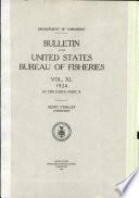 Bulletin Of The United States Bureau Of Fisheries