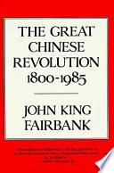 Great Chinese Revolution 1800 1985