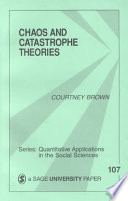 Chaos and Catastrophe Theories