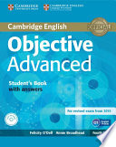 Objective Advanced Student s Book with Answers with CD ROM