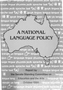 report on a national language policy