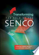 Transforming The Role Of The Senco  Achieving The National Award For Sen Coordination