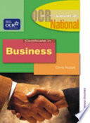 OCR National Certificate in Business   Level 2