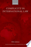 Complicity in International Law
