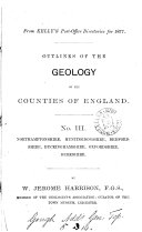 download ebook outlines of the geology of the counties of england. (from kelly\'s post-office directories). pdf epub