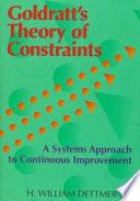 Goldratt s Theory of Constraints