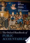 The Oxford Handbook Public Accountability