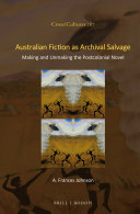 Book Australian Fiction as Archival Salvage