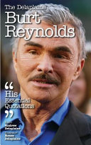 The Delaplaine Burt Reynolds