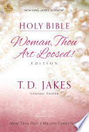 NKJV  Holy Bible  Woman Thou Art Loosed  Paperback  Red Letter Edition