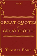 Great Quotes by Great People