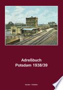 Adreßbuch Potsdam, 1938/39