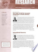 IMF Research Bulletin, June 2004 Research And Analytical Work Done By Various Departments