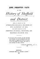 Some forgotten facts in the history of Sheffield and district