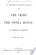 The Crime Of The Opera House