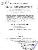 Le Nouveau guide de la conversation en anglais et en français