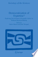 Democratization Of Expertise