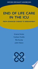 End Of Life Care In The Icu