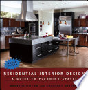 illustration du livre Residential Interior Design