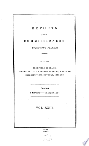 Parliamentary Papers, House of Commons and Command